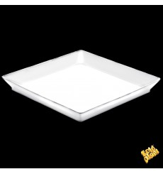 Tasting Tray PS Medium size White 13x13 cm (192 Units)