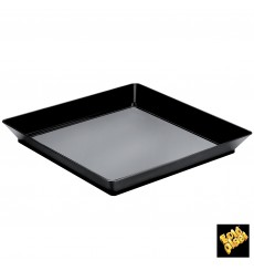 Tasting Tray PS Medium size Black 13x13 cm (192 Units)