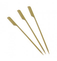 Bamboo Food Pick Golf Design 12cm (200 Units)