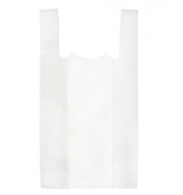 Plastic T-Shirt Bag White 40x50cm (200 Units)