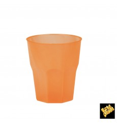 "Plastic Cup PP ""Frost"" Orange 270ml (20 Units)"