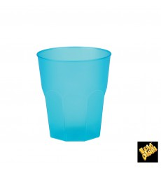 """Plastic Cup PP """"Frost"""" Turquoise 270ml (20 Units)"""
