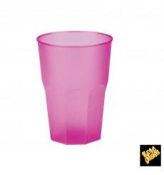 "Plastic Cup PP ""Frost"" Fuchsia 350ml (20 Units)"