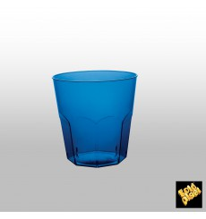 Plastic Cup PS Blue Clear Ø7,3cm 220ml (1000 Units)