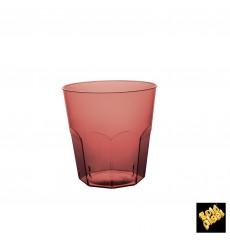 Plastic Cup PS Burgundy Clear Ø7,3cm 220ml (1000 Units)
