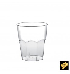 Plastic Cup for Cocktail PP Clear Ø8,4cm 270ml (20 Units)