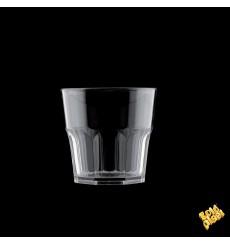 "Plastic Glass SAN Reusable ""Mini Drink"" Clear 160ml (8 Units)"