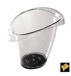 Plastic Ice Bucket Anti Drip 1 Bottle Clear SAN (1 Unit)