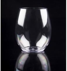 Plastic Glass TRITAN Reusable Clear 390ml (1 Unit)