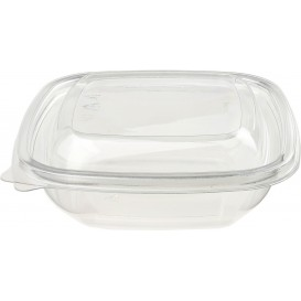 Plastic Bowl PET Square Shape 150ml 125x125x30mm (50 Units)