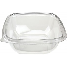 Plastic Bowl PET Square Shape 250ml 125x125x40mm (50 Units)