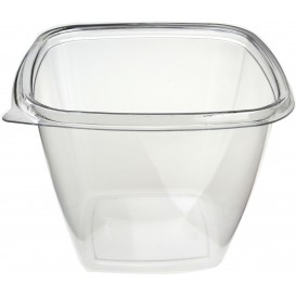 Plastic Bowl PET Square Shape 750ml 125x125x90mm (500 Units)