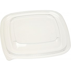 Plastic Lid PET for Plastic Bowl 125x125mm (50 Units)