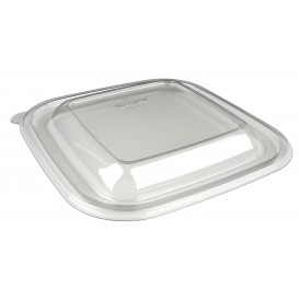 Plastic Lid PET for Plastic Bowl 175x175mm (50 Units)