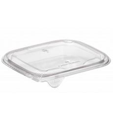 Tapa Plana Plástico para Ensaladera PET 12x12cm (50 Uds)