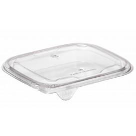 Plastic Lid for Deli Container PET Flat 14x12cm (504 Units)