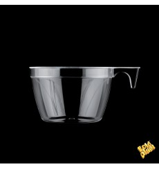 Plastic Cup Clear 190ml (25 Units)