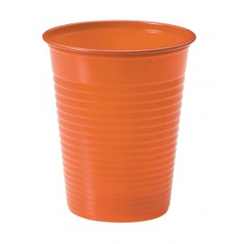 Vaso de Plastico Naranja PS 200ml (1500 Uds)