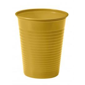 Plastic Cup PS Gold 200ml Ø7cm(1500 Units)