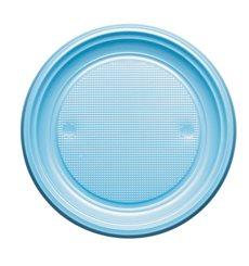 Plato de Plastico Llano Azul Oscuro PS 170mm (1100 Uds)