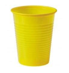 Vaso de Plastico Amarillo PS 200ml (1500 Uds)