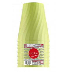 """Plastic Cup PP """"X-Table"""" Lime 320ml (128 Units)"""