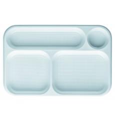 Bandeja de Plastico Blanca 4C 360x240mm (300 uds)