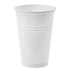 Plastic Cup PP White 230ml Ø7,0cm (3000 Units)