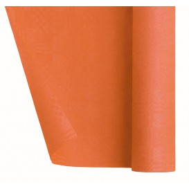 Paper Tablecloth Roll Orange 1,2x7m  (1 Unit)