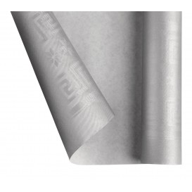 Paper Tablecloth Roll Silver 1,2x7m (1 Unit)