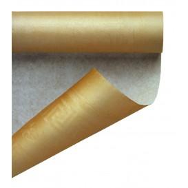 Paper Tablecloth Roll Gold 1,2x7m (25 Units)