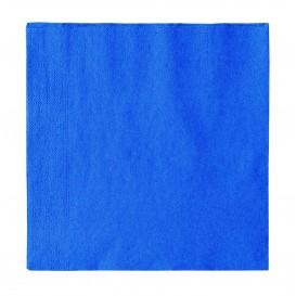 Paper Napkin 2 Layers Dark Blue 33x33cm (50 Units)