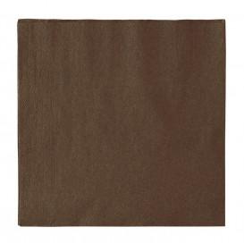 Paper Napkin 2 Layers Chocolate 33x33cm (50 Units)