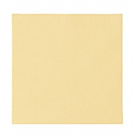 Paper Napkin 2 Layers Crema 33x33cm (1200 Units)