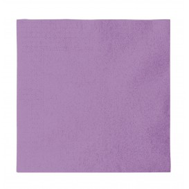 Paper Napkin 2 Layers Lilac 33x33cm (1200 Units)