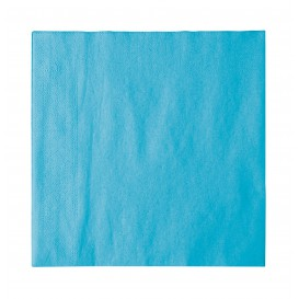 Paper Napkin 2 Layers Turquoise 33x33cm (50 Units)