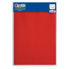 Paper Tablecloth Red 1,2x1,8m (1 Unit)