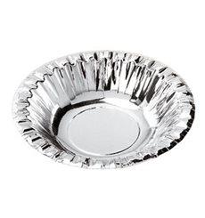 """Paper Bowl """"Party"""" Silver Ø16cm (90 Units)"""