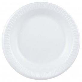 """Foam Plate Foam """"Quiet Classic"""" Laminated White Ø26 cm (500 Units)"""