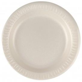 """Foam Plate """"Quiet Classic"""" Laminated Honey Ø18 cm (1000 Units)"""