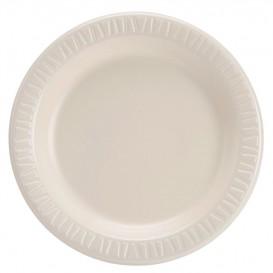 "Foam Plate Foam ""Quiet Classic"" Laminated Honey Ø23 cm (500 Units)"