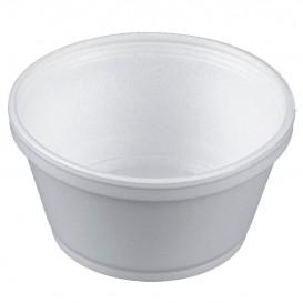 Foam Container White 8Oz/240ml Ø11cm (500 Units)