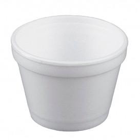 Foam Container White 4Oz/120ml Ø7,4cm (50 Units)