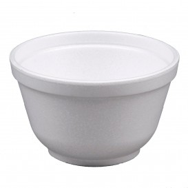 Foam Container White 6Oz/180ml Ø8,9cm (1000 Units)