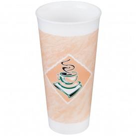 """Foam Cup EPS """"Café"""" 24Oz/710 ml Ø9,4cm (20 Units)"""