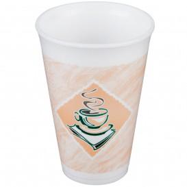 """Foam Cup EPS """"Café"""" 16Oz/480ml Ø9,4cm (25 Units)"""