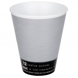 "Foam Cup Fusion ""Steele""12Oz/355ml Ø9,4cm (25 Units)"