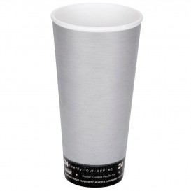 "Foam Cup Fusion ""Steele"" 24Oz/710ml Ø9,4cm (500 Units)"