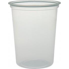 """Plastic Deli Container PP """"Deli"""" 32Oz/960ml Clear Ø12cm (25 Units)"""