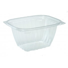 "Plastic Deli Container OPS ""ClearPac"" Clear 473ml (63 Units)"